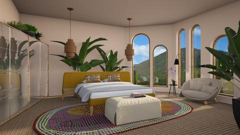 Arched Bedroom - Bedroom  - by 3rdfloor