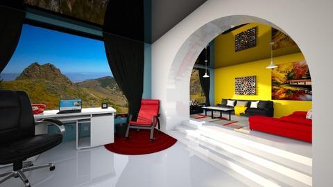 BauhausColoured Studyroom - Living room  - by Luiz Klosovski