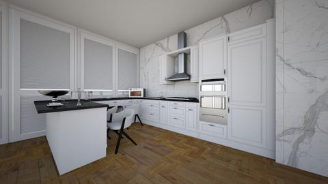 modern kitchen - Modern - Kitchen  - by spotlight_dream