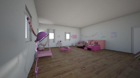 pink rules - Living room - by 29catsRcool
