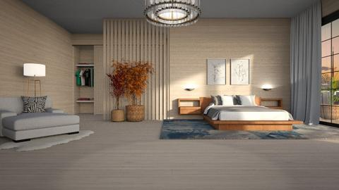 Magnolia II - Modern - Bedroom - by Claudia Correia