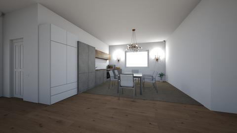 Kitchen and dinning room  - by saratevdoska