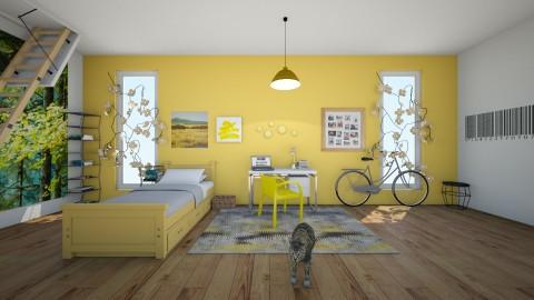 Sunflower - Bedroom - by Sunny Bunny