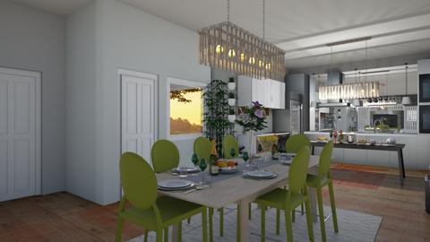 DREAMHOUSE DINING AREA - Kitchen  - by LLOYDPAMORE