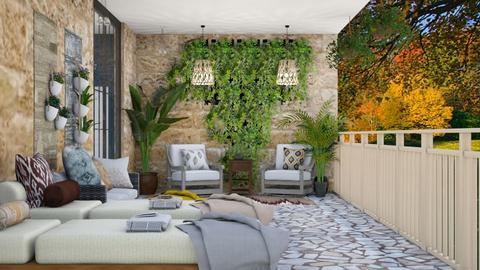 Balcony - Garden  - by Feeny