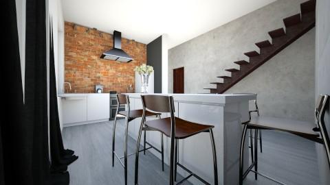 6 - Retro - Kitchen  - by ewcia11115555