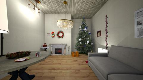 Christmas House - Classic - Living room  - by Richiboy25