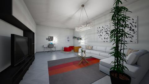 fancy living room - Modern - Living room - by elizabethwatt16