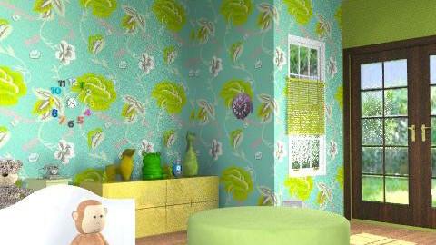 Tiffany Prior` - Retro - Bedroom  - by P0204710