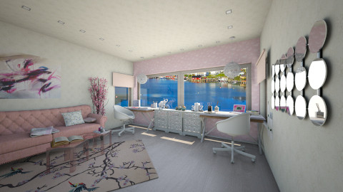 Ground Floor feminen hoby - Office - by kanatsizmelek
