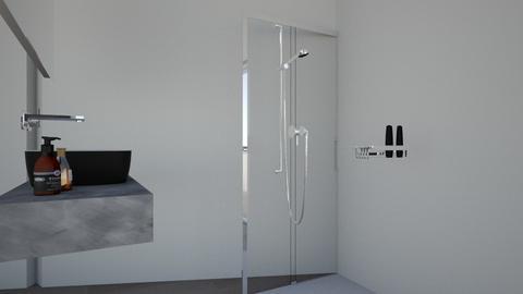 ducha2 - Glamour - Bathroom  - by damian1996
