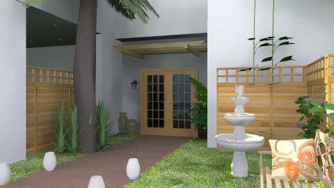 Tropic Front - Modern - Garden  - by channing4