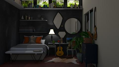 ecletic room - Bedroom - by lais baptista