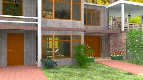 Stone House - Modern - Garden  - by Bibiche