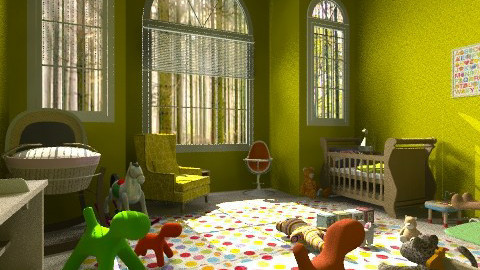 nursery at country house - Modern - Kids room  - by sofia95