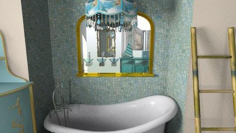 gold  - Vintage - Bathroom  - by lakacs28