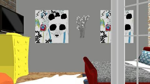 t_loft - Bedroom - by mzalston