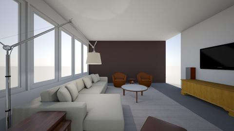 Steve and Vanessa - Living room  - by pthai