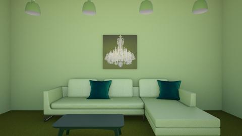green room  - Living room  - by Cianna3031