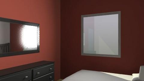 Aska New Bed 1 - Rustic - Bedroom  - by apikovsky