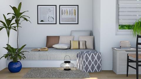 Student - Modern - Bedroom  - by stephendesign