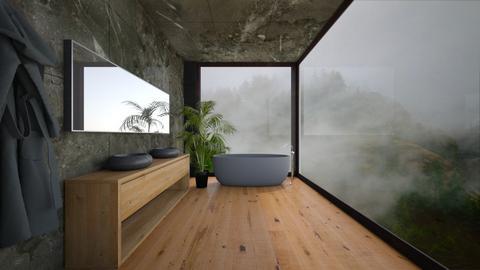 Bathroom Retreat - Bathroom  - by ShabrookeD14