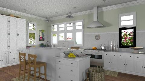 Cape Cod Kitchen - Classic - Kitchen  - by saraho1990