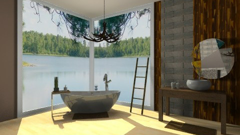 Inspiration2 Natural Bath - Eclectic - Bathroom  - by idesine