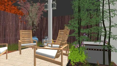 My patio - Modern - Garden  - by ybudko