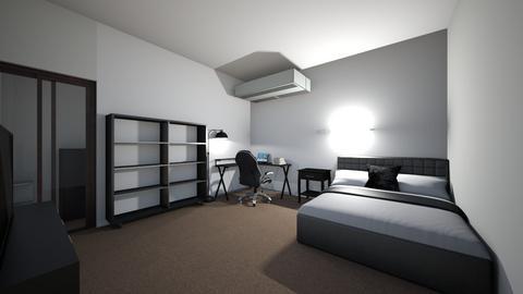 habitacion  - Modern - Bedroom  - by brayansteka