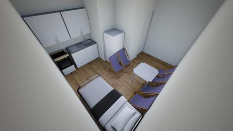 Quarteira Apartment - Minimal - Kitchen - by doritauk