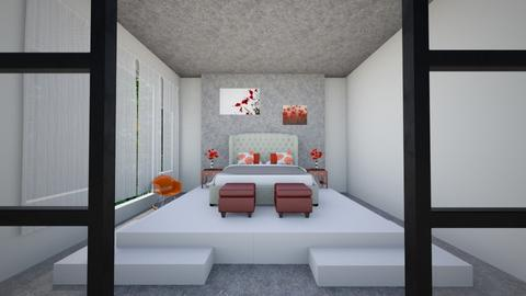 Poppy Bedroom - Bedroom  - by Vae Riley