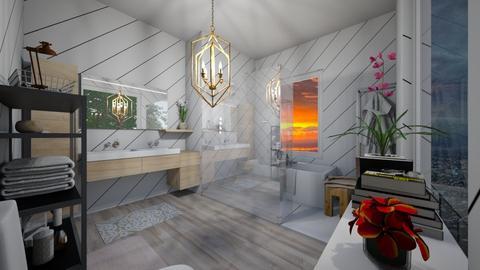 Eclectic Bathroom - Eclectic - Bathroom - by XqveenXlove