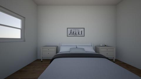Master Bedroom - Modern - Bedroom  - by Bluelover200