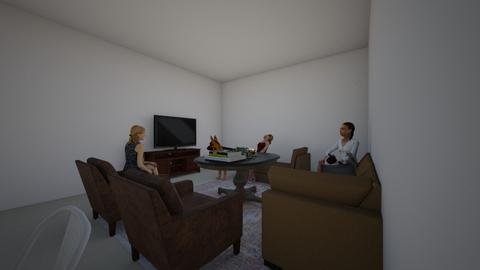Apartment - Living room - by kinnistenma