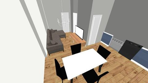 Living Area_Kitchen - Living room  - by Emma123123