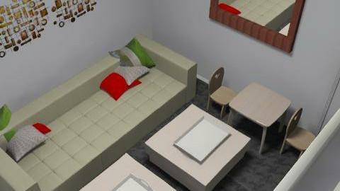 usman opt 2 v2 - Glamour - Living room  - by mehar
