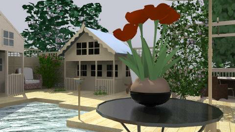 Village - Rustic - Garden  - by camidome