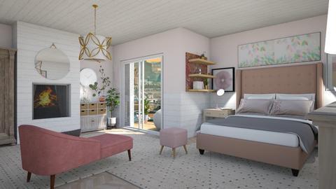 Pinky - Feminine - Bedroom - by augustmoon