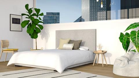 Mid Century Bedroom - Modern - Bedroom  - by millerfam