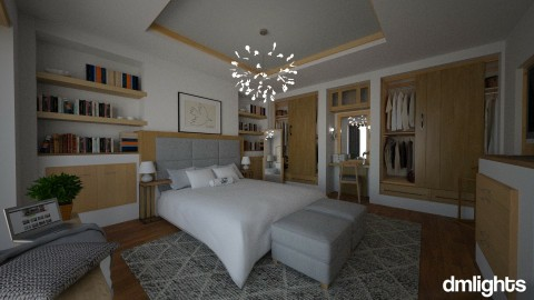Projekat _ Spavaca soba - Bedroom - by DMLights-user-1025330
