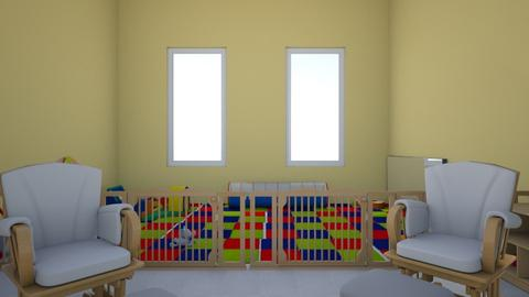 HH playpen from table - Kids room  - by addiwood