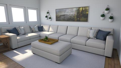 Living Space for Susan - Living room  - by TheDutchDesigner