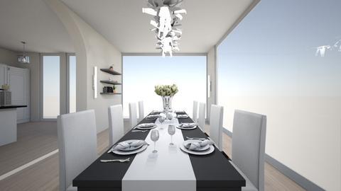 house d8 - Dining room  - by nikolinajadanic