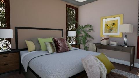 Masterbedroom V3 - Vintage - Bedroom  - by Ejad Shukri
