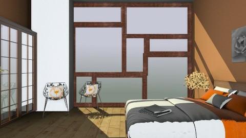 Sun Bedroom - Rustic - Bedroom  - by Calista Spears