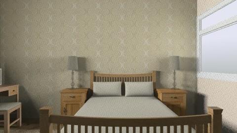 Mum and Dad bedroom - Vintage - Bedroom  - by mackay17n
