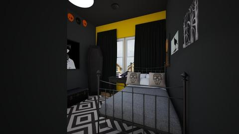 Gothic - Bedroom - by SammyJPili