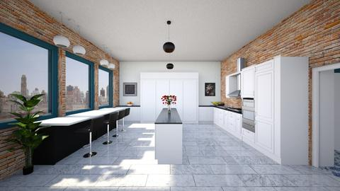 Central Park Kitchen - Classic - Kitchen  - by mdesign13