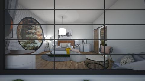 winter bedroom - Bedroom  - by tessmcquillan